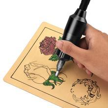 BellyLady Aluminum Tattoo Machine Rotary Pen Permanent Makeup Equipment Black