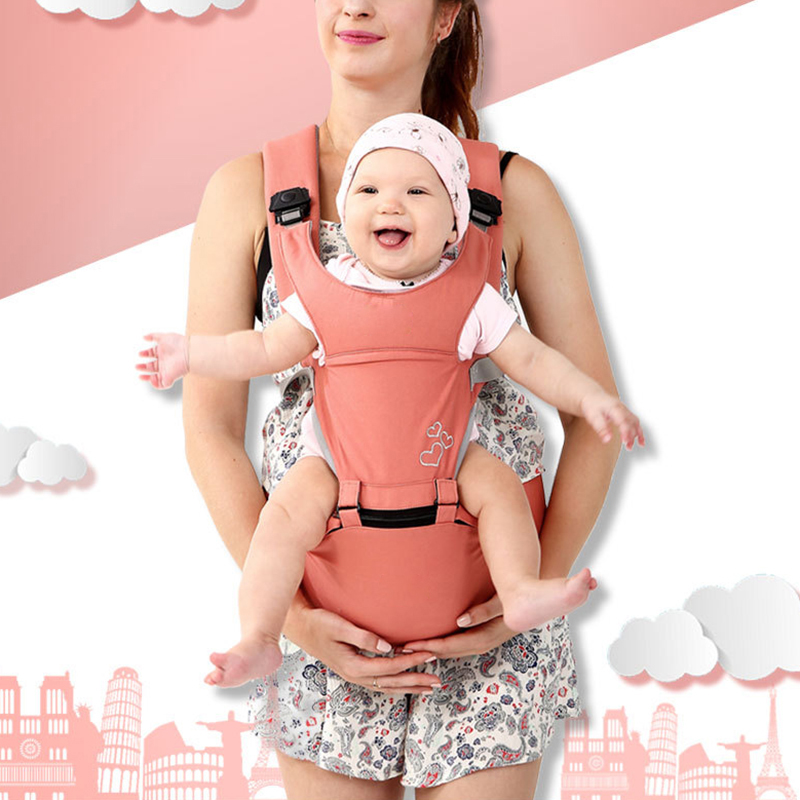 Multifunctional Baby Hip Seat Carrier Ergonomic Soft Infants Waist Stool Strap For All Seasons Baby Carrier 28*18*25cm