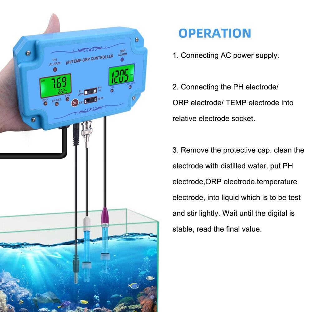de qualidade da água repleaceable bnc tipo