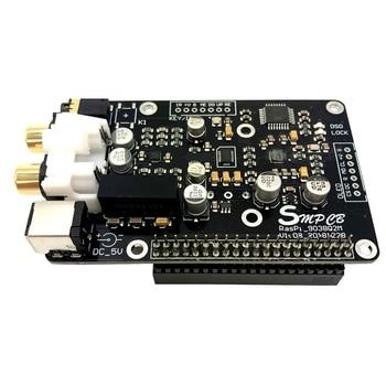 Es9038Q2M Opa1612 Op Decoder Digital Broadcast Board I2S 32Bit/384K Dsd128 for Raspberry Pi 2B 3B 3B+ Dac