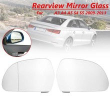 RS Q3 RIGHT SIDE Wing Mirror Glass Wide Angle 2013 May to 2018