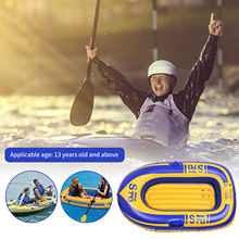 Inflatable-Boat Rowing Kayaking PVC for Single Safety Surf Thickened -W