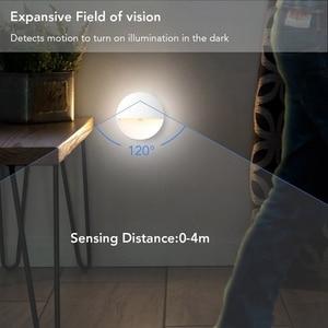Image 3 - PIR Motion Sensor LED Novelty verlichting Gevoelige Muur Plafond nachtlampje Kabinet lamp Voor Hal Pathway 2led Nieuwigheid verlichting