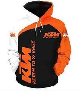 Hooded Jacket Pullover 3d Casual Sweatshirt Motorcycle Autumn Men's Fashion Brand-New