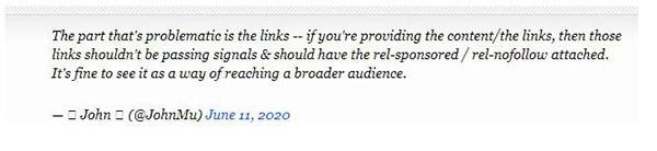 Google建议:所有网站的链接应加上nofollow