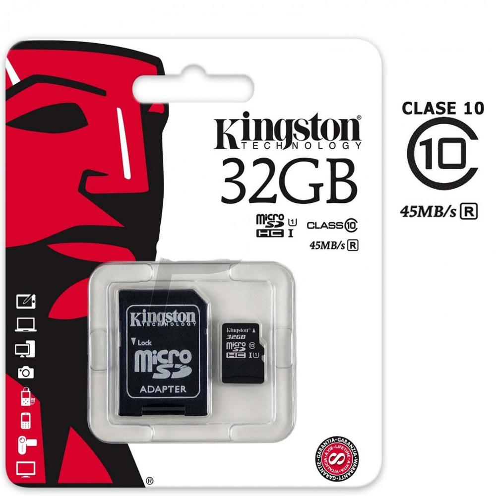 New Kingston 80MB/s 32GB 16GB 8Go Micro SD SDHC SDXC UHS-I Class10 TF Memory Card For Android Smartphones Bluetooth Speakers
