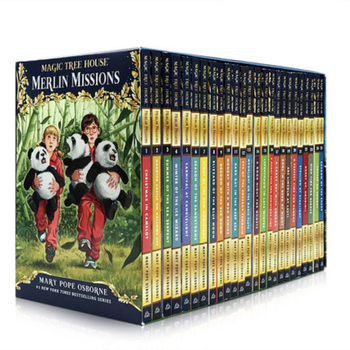 27 Books Magic Tree House Merlin Missions 1-27 English Reading Story Books Children Adventure Science Chapter Book