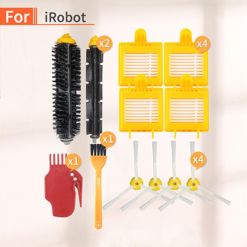Для Irobot Roomba 700 серии сменные комплекты 760770780790782785786 Запчасти для робота-пылесоса