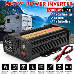 Dual USB Charge 12000W Watt DC 12V to AC