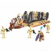NEW Legoinglys Star Wars Battle Droid Troop Carrier Fit Star Wars Figures Fighter Model Building Blocks Bricks Toys Boys Gift
