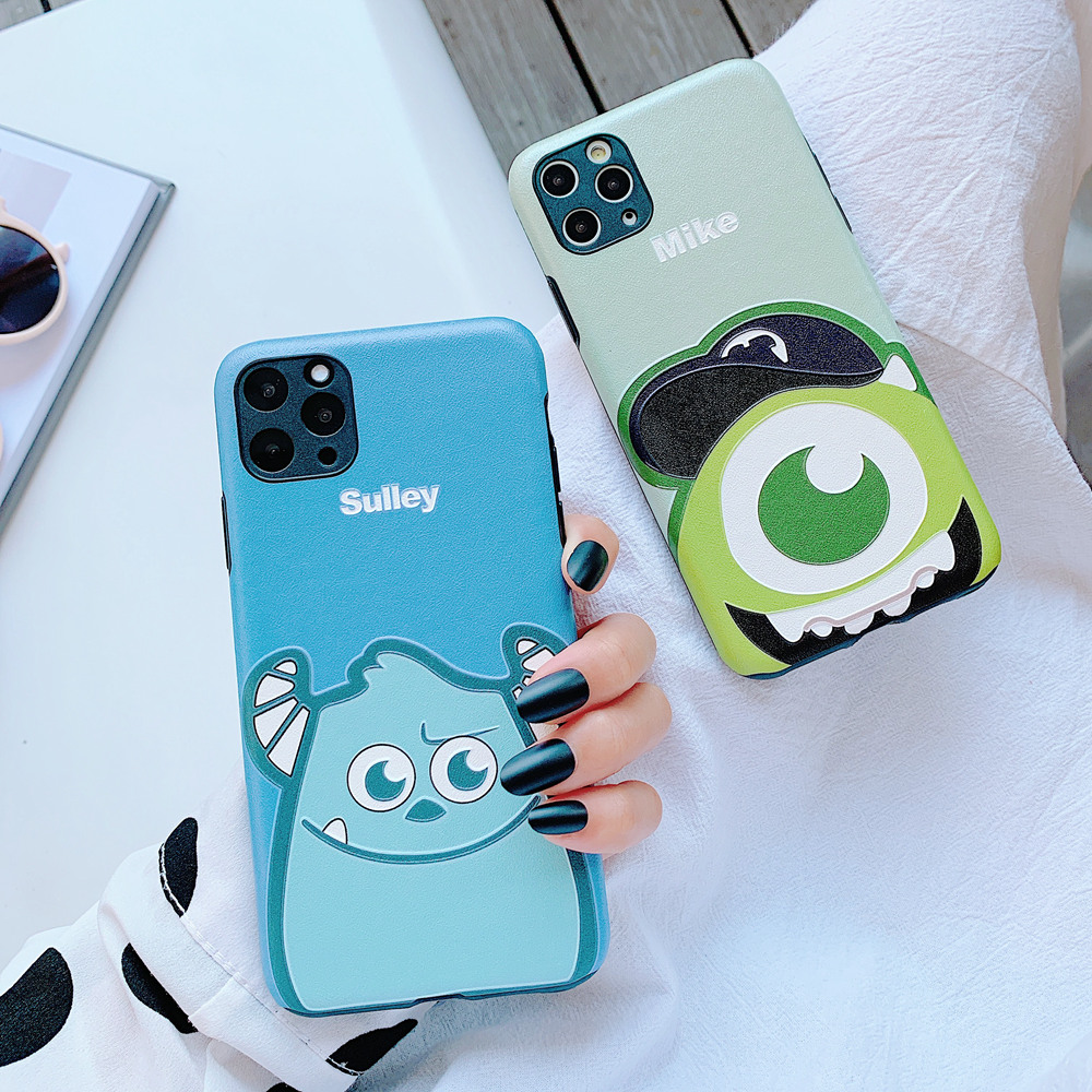 Disney Sulley Mike soft Silicone Case