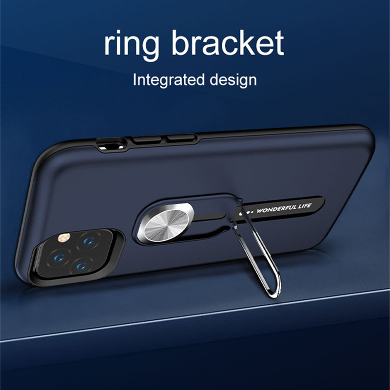 Magnetic Ring Kickstand Case for Iphone 11 Pro Max 7 8 6 6S Plus X XS Magnetic Ring Kickstand Case for Iphone 11 Pro Max 7 8 6 6S Plus X XS MAX XR Anti-fall Protection Mobile Phone Cover Fundas