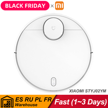 NEW Xiaomi Robot Vacuum Cleaner 3 Sweeping Mopping STYJ02YM 2100Pa Suction Dust Collector Mi Home apirador wireless cleaner