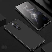 Xiaomi Redmi Note 8 Pro note 7 pro note 6 5 pro 4 mi 10 pro 알루미늄 금속 범퍼 하드 PC 커버 Coques