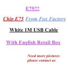 10Pcs/lot Original 8ic 1M/3FT 2m/6FT E75 Chip USB Data Cable Charger For 5 5S 6 6s 7 7plus 8 8plus X With Retail box