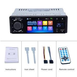 """Image 5 - Ayna bağlantı 1 Din Autoradio araba radyo 4.1 """"dokunmatik ekran otomatik ses Bluetooth araç Stereo MP5 oynatıcı multimedya dikiz kamera"""