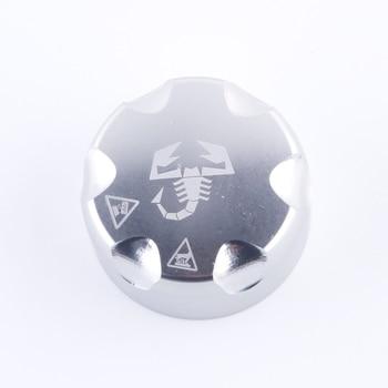 Алюминиевая крышка для резервуара для воды Fiat Grande Punto 500 / 595 / 695 / Fiat Grande Punto, алюминиевая крышка, установленная на оригинальной пластиковой крышке|Радиаторы и запчасти|   | АлиЭкспресс