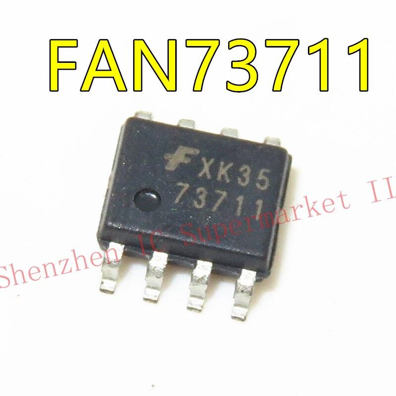 1PCS FAN73711 SOP8 73711 SOP SMD FAN73711MX SOP-8 LCD power chip
