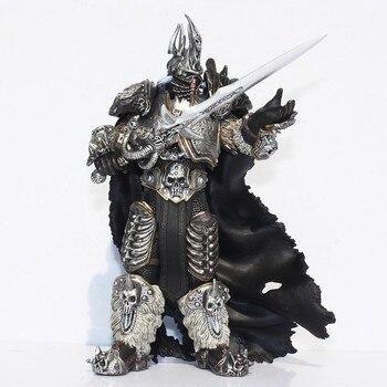 Fall of The Lich King Arthas Menethil 17.5cm PVC Action Figures D30