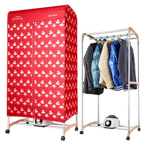 Dryer Drying-Machine Double-Clothes Electric Wardrobe Timing The-Keys Large-Capacity