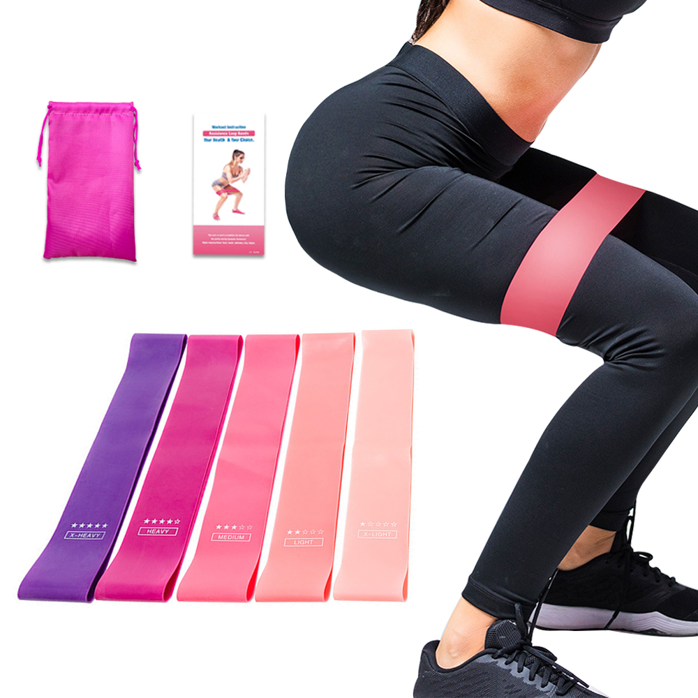 Elastic Resistance Bands Gym Yoga Crossfit Expander Stretch Rubber Band Fitness Gum Equipment Pull Rope Strength Training