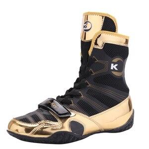Кроссовки мужские спортивные со шнуровкой, обувь для тренировок, телячья мышечная подошва, профессиональная обувь для бокса