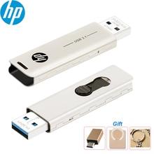 Original HP X796W Metall USB 3,1 High Speed USB Flash Drive 32GB 64GB 128GB 256GB 512GB Pen Drive Memory Stick für PC Laptop