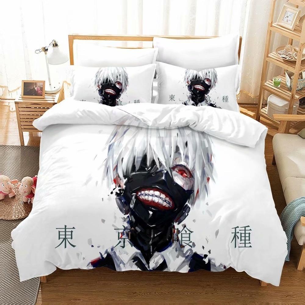 Tokyo Ghoul Bedding Set Kaneki Ken