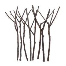 Paquet de 8 Branches d'arbre en bois naturel, Style ferme, vraies Branches d'arbre, bricolage Floral rustique pour décoration de maison, centre de table de mariage