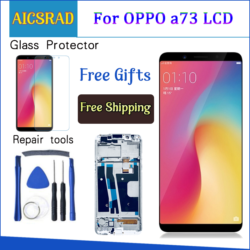 6.0'' For OPPO A73 A73T / F5 Youth LCD Display+Touch Digitizer Screen Assembly Replacement Parts