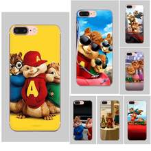 Alvin And The Chipmunks TPU Cases Capa For LG G2 G3 G4 G5 G6 G7 K4 K7 K8 K10 K12 K40 Mini Plus Stylus ThinQ 2016 2017 2018(China)