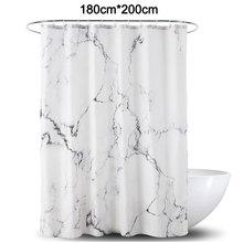 Marble Pattern Print Shower Curtain  Bath Polyester Bath Curtain Waterproof For Bathroom bathroom set Decoration Curtain цена