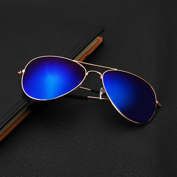 Men Women Retro Sunglasses Fishing Golf Ball Finder Glasses Eye Protection Golf Accessories Blue Lenses Outdoor Sport Sun Glass