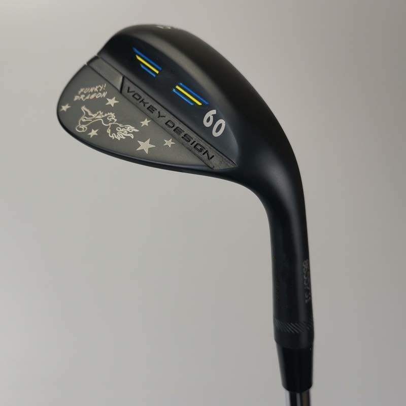 SM8 Wedge FUNKY DRAGON Black Color Dragon Vokey Design 50 52 54 56 58 60 Degree Golf Club Steel Shaft Free Shipping