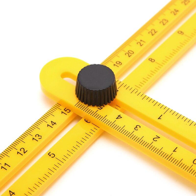 Measuring Instrument Template Tool Four-Sided Ruler Mechanism Slid