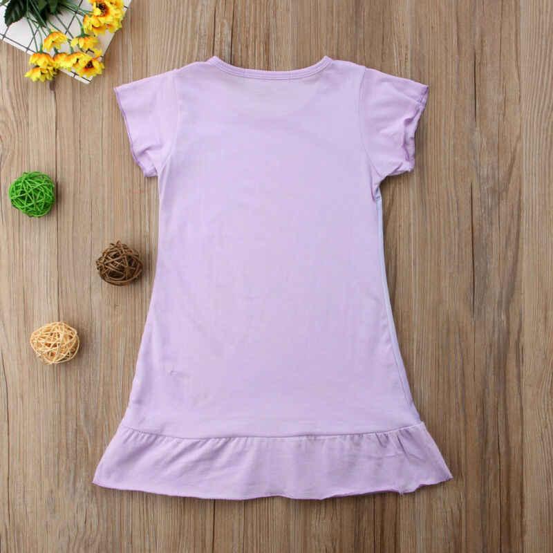 Elbiseler çocuk kız kolsuz çiçek baskı pamuk ve keten Rapunzel Aurora bebek kız bahar yaz elbiseler kızlar için