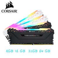 Corsair rgb pro ram ddr4 8 gb 3000 mhz dimm placa-mãe do apoio da memória do desktop 8g 16g ddr4 3000 mhz rgb ram 16gb 32gb