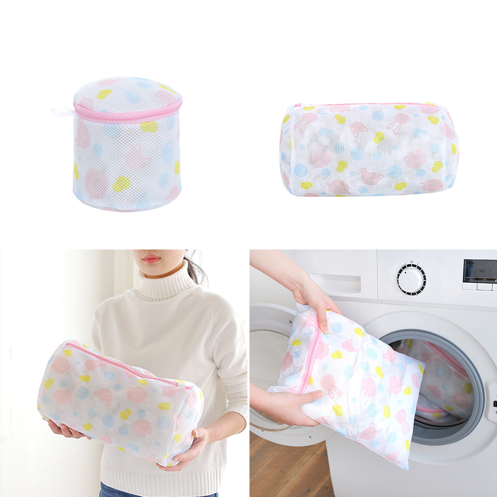 5Size Laundry Bag Washing Clothing Care Foldable Protection Net Filter Underwear Bra Socks Underwear Washing Machine Clothes