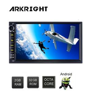 Image 5 - ARKRIGHT Radio Multimedia con GPS para coche, Radio con reproductor, Android 8,1, 7 pulgadas, 2 + 32GB, navegador, estéreo, Wifi, Carplay, android, 4G