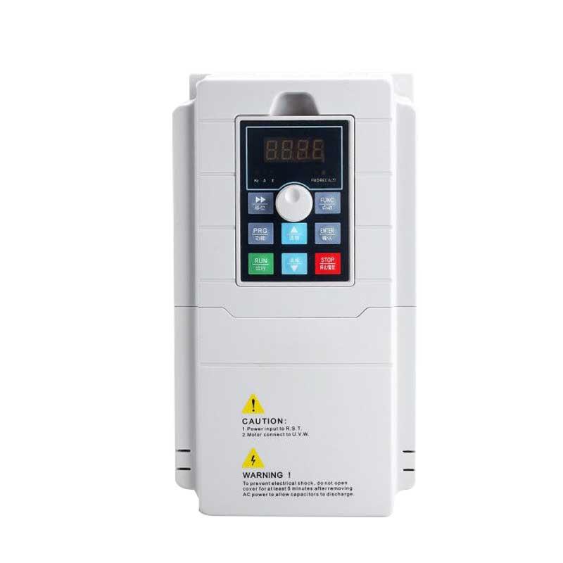 Mini przetwornica częstotliwości 0.4kw 0.75kw 1.5kw 2.2kw 4kw 190 V/220 V jednofazowy 380V 3 fazy wejście VFD przemiennik częstotliwości 190 V/VFD
