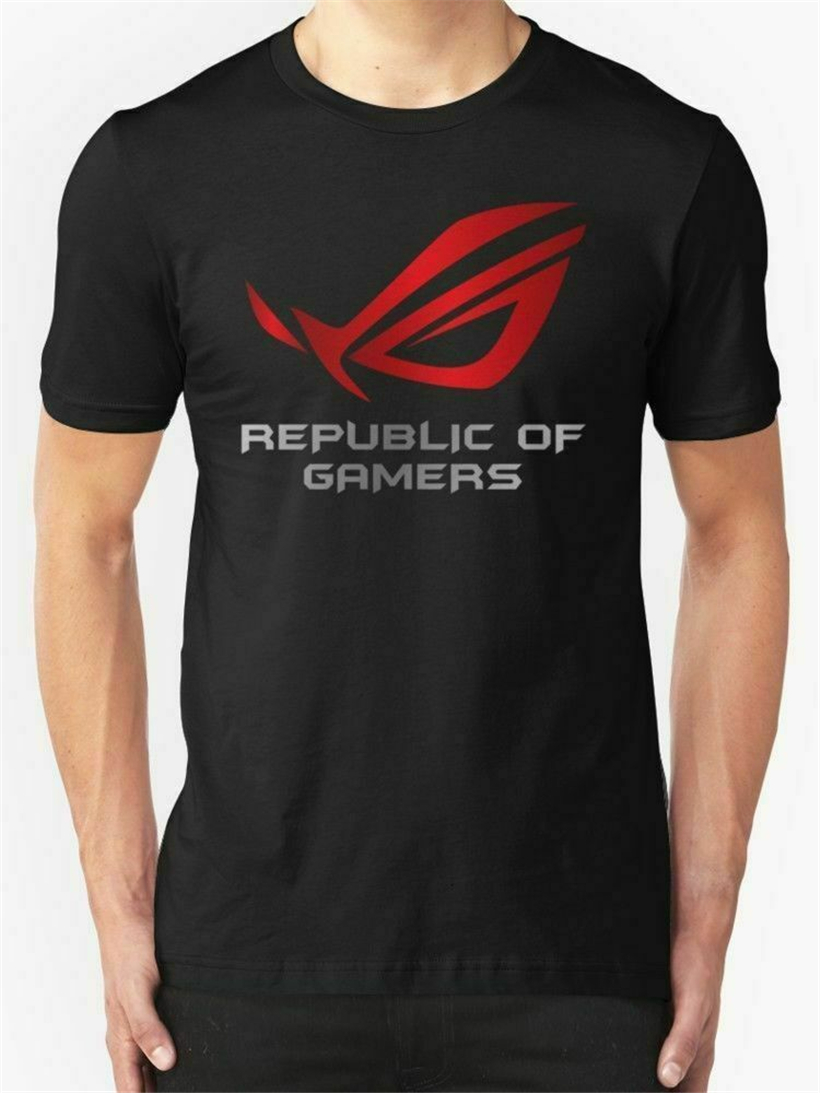 Limited !!! Asus Republic Of Gamers T Shirt S-3XL Tee Shirt Outwear Clothes