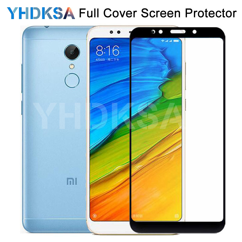 <font><b>9D</b></font> Protective Glass For <font><b>Xiaomi</b></font> <font><b>Redmi</b></font> 5 Plus S2 <font><b>4X</b></font> 5A Screen Protector <font><b>Redmi</b></font> Note 4 <font><b>4X</b></font> 5 5A Pro Safety Tempered Glass Film Case image