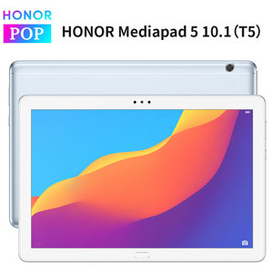 Image 1 - Oryginalny Huawei Honor MediaPad T5 10.1 cala 1080p Full HD IPS Kirin 659 Octa Core Android 8.0 honor Tablet 5 odcisk palca odblokuj