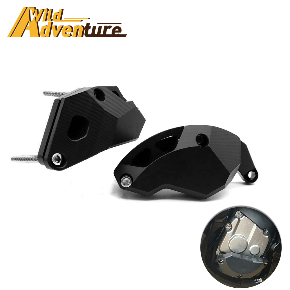 For Kawasaki ZX10R Ninja ZX-10R 2011-2018 Engine Guard Protective Cover Fairing Sliders Protection Crash Protector PAD image
