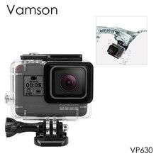 Vamson для Gopro Hero 7 6 5 Аксессуары Водонепроницаемый защитный корпус чехол для дайвинга 45 м защитный для Gopro Hero 6 5 камера VP630