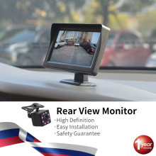 Hippcron monitor automotivo, tela de 4.3