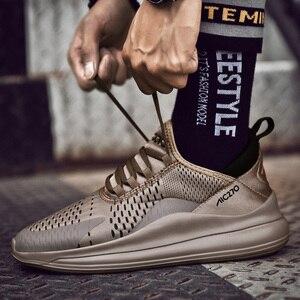 Image 2 - 2019 Mới Giày Nam Sneaker Cổ Size Lớn 39 47 Mùa Hè Nhà Thiết Kế Máy Bay Huấn Luyện Thoáng Khí Thoải Mái Thời Trang Siêu Nhẹ Nam # AB1973