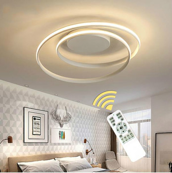 New Arrival Acrylic Ceiling Lights LED Lamp For Living Room Bedroom Study Room White black color surface mounted Ceiling Lamp
