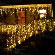3m*0.6m*0.4m 100LEDS Led Christmas Lights 110VAC 220VAC EU US Plug LED