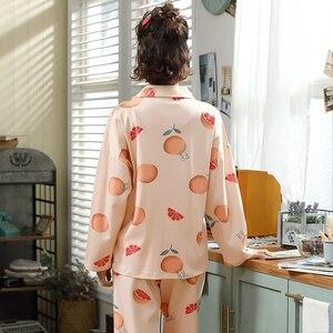 Image 5 - BZEL sıcak satış gecelik kadın pijama setleri karikatür pijama takım elbise sevimli kadın kıyafeti iç çamaşırı artı boyutu Pijamas pijama XXXL